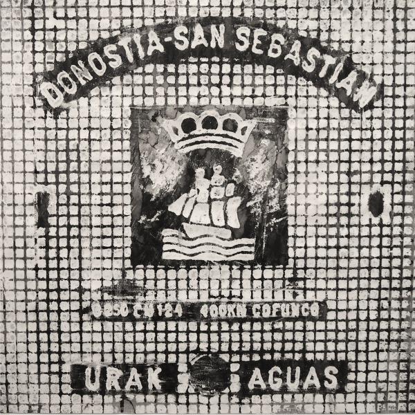 Urak aguas / Donosti 2014/ceras y tinta china sobre papel 80x80 cm