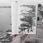 Ganges. Varanasi, India 2014